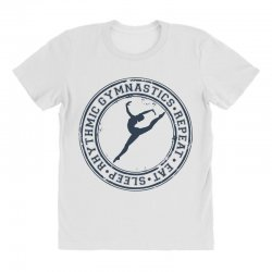 Eat, sleep, Rhythmic gymnastics, Repeat III All Over Women's T-shirt | Artistshot