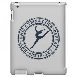 Eat, sleep, Rhythmic gymnastics, Repeat III iPad 3 and 4 Case | Artistshot
