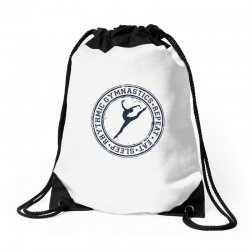 Eat, sleep, Rhythmic gymnastics, Repeat III Drawstring Bags | Artistshot
