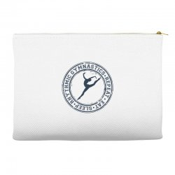 Eat, sleep, Rhythmic gymnastics, Repeat III Accessory Pouches | Artistshot