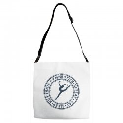 Eat, sleep, Rhythmic gymnastics, Repeat III Adjustable Strap Totes | Artistshot