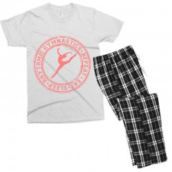 Eat, sleep, Rhythmic gymnastics, Repeat IV Men's T-shirt Pajama Set | Artistshot