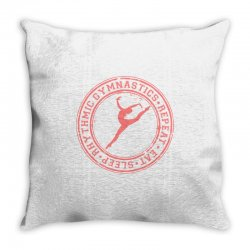 Eat, sleep, Rhythmic gymnastics, Repeat IV Throw Pillow | Artistshot