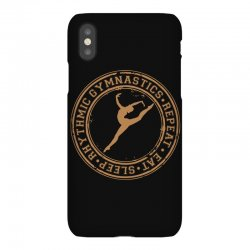 Eat, sleep, Rhythmic gymnastics, Repeat II iPhoneX Case | Artistshot