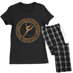 Eat, sleep, Rhythmic gymnastics, Repeat II Women's Pajamas Set | Artistshot