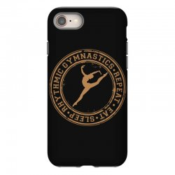 Eat, sleep, Rhythmic gymnastics, Repeat II iPhone 8 Case | Artistshot