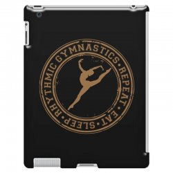 Eat, sleep, Rhythmic gymnastics, Repeat II iPad 3 and 4 Case | Artistshot