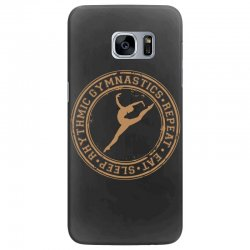 Eat, sleep, Rhythmic gymnastics, Repeat II Samsung Galaxy S7 Edge Case | Artistshot