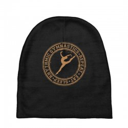 Eat, sleep, Rhythmic gymnastics, Repeat II Baby Beanies | Artistshot