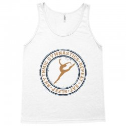 Eat, sleep, Rhythmic gymnastics, Repeat I Tank Top | Artistshot