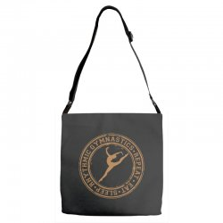 Eat, sleep, Rhythmic gymnastics, Repeat II Adjustable Strap Totes | Artistshot