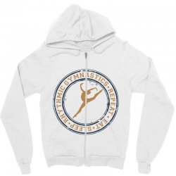 Eat, sleep, Rhythmic gymnastics, Repeat I Zipper Hoodie | Artistshot