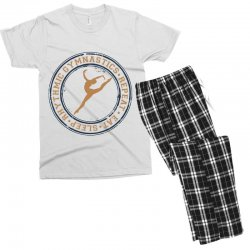 Eat, sleep, Rhythmic gymnastics, Repeat I Men's T-shirt Pajama Set | Artistshot