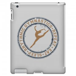 Eat, sleep, Rhythmic gymnastics, Repeat I iPad 3 and 4 Case | Artistshot