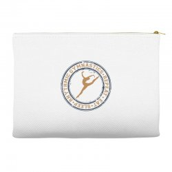Eat, sleep, Rhythmic gymnastics, Repeat I Accessory Pouches | Artistshot