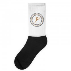 Eat, sleep, Rhythmic gymnastics, Repeat I Socks | Artistshot