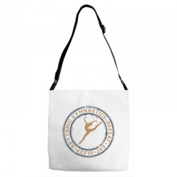 Eat, sleep, Rhythmic gymnastics, Repeat I Adjustable Strap Totes | Artistshot