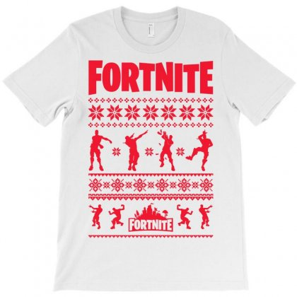 Fortnite Christmas Ugly Sweater T-shirt Designed By Akin