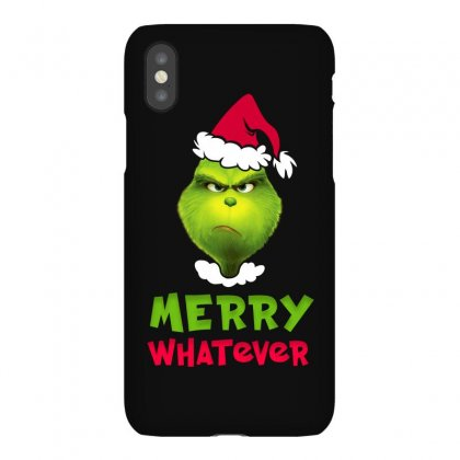 Merry Whatever Grinch Iphonex Case Designed By Akin