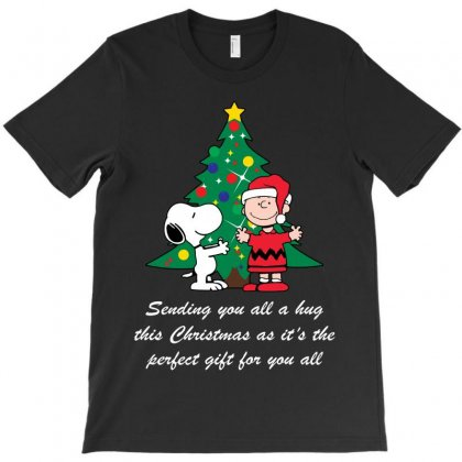 Sending You All A Hug This Christmas T-shirt Designed By Akin