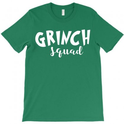 Grinch Squad T-shirt Designed By Akin