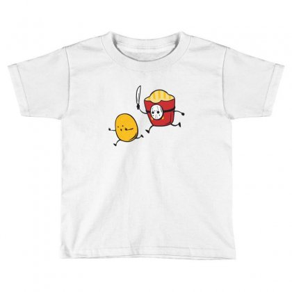 French Fried Jason Toddler T-shirt Designed By Wizarts