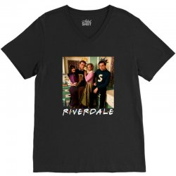 riverdale for dark V-Neck Tee | Artistshot
