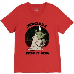 seagulls stop it now V-Neck Tee | Artistshot