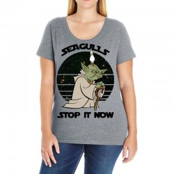 seagulls stop it now Ladies Curvy T-Shirt | Artistshot
