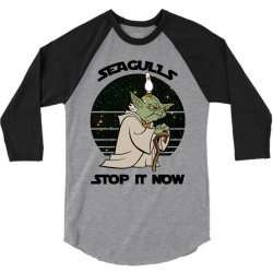seagulls stop it now 3/4 Sleeve Shirt | Artistshot