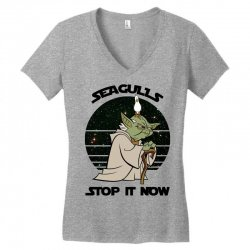 seagulls stop it now Women's V-Neck T-Shirt | Artistshot