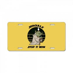 seagulls stop it now License Plate | Artistshot