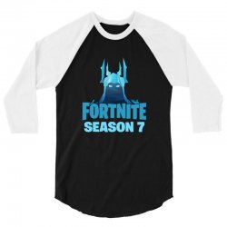 fortnite season 7 the ice king 3/4 Sleeve Shirt | Artistshot