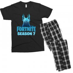 fortnite season 7 the ice king Men's T-shirt Pajama Set | Artistshot