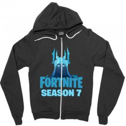 fortnite season 7 the ice king Zipper Hoodie | Artistshot