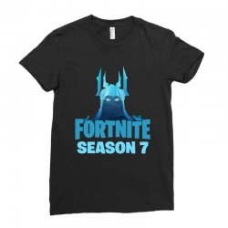 fortnite season 7 the ice king Ladies Fitted T-Shirt | Artistshot