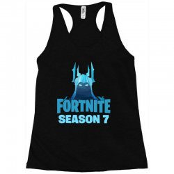 fortnite season 7 the ice king Racerback Tank | Artistshot