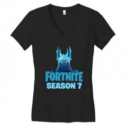 fortnite season 7 the ice king Women's V-Neck T-Shirt | Artistshot