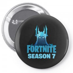 fortnite season 7 the ice king Pin-back button | Artistshot