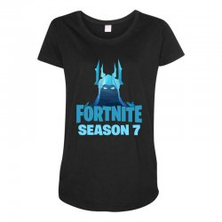 fortnite season 7 the ice king Maternity Scoop Neck T-shirt | Artistshot