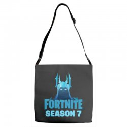 fortnite season 7 the ice king Adjustable Strap Totes | Artistshot