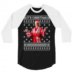 ric flair christmas ugly 3/4 Sleeve Shirt | Artistshot