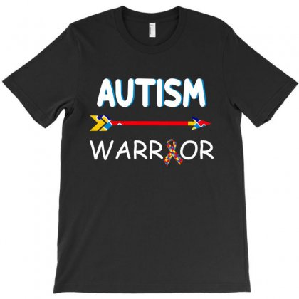 Autism Warrior T-shirt Designed By Tshiart