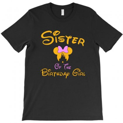 Sister Of The Birthday Girl T-shirt Designed By Tshiart