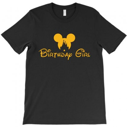 Birthday Girl T-shirt Designed By Tshiart