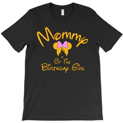 Mommy Of The Birthday Girl T-shirt Designed By Tshiart