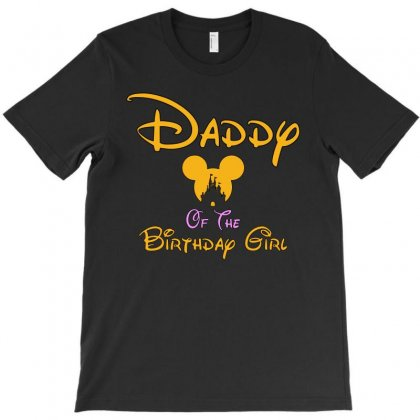 Daddy Of The Birthday Girl T-shirt Designed By Tshiart