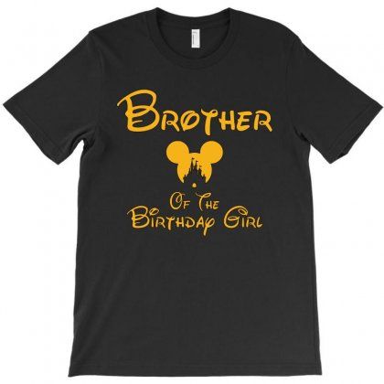 Brother Of The Birthday Girl T-shirt Designed By Tshiart