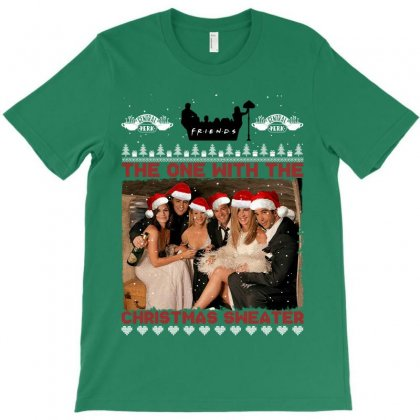 Friends Tv Show Ugly Christmas T-shirt Designed By Sengul