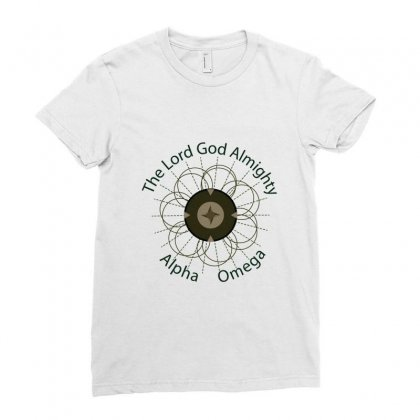 Almighty Ladies Fitted T-shirt Designed By Benoyjustus